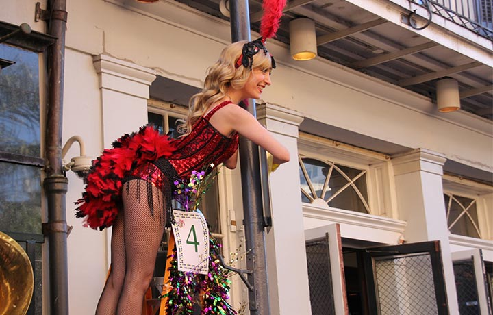 Bourbon St. Balcony Party - New Orleans VIP Experience & Mardi Gras Made Ez